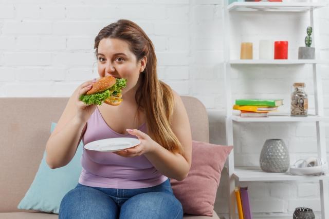肥満女性イメージ