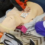 AED心臓マッサージ